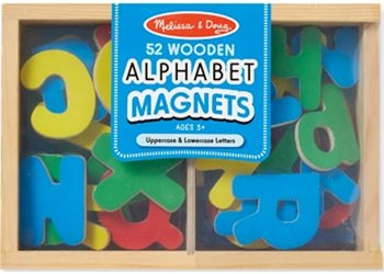 Melissa & Doug - Alphabet Magnets - 52pc