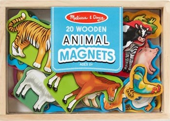 Melissa & Doug - Animal Magnets - 20pc