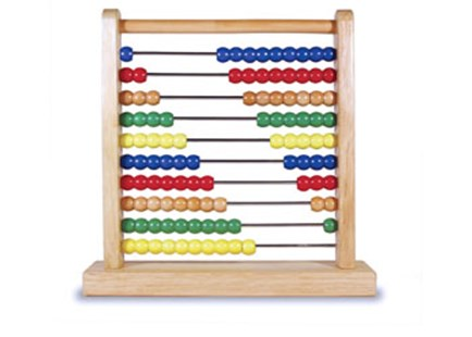 Melissa & Doug - Wooden Abacus - Children's Toys & Games Educational