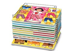 Melissa & Doug - Single Wire Puzzle Storage
