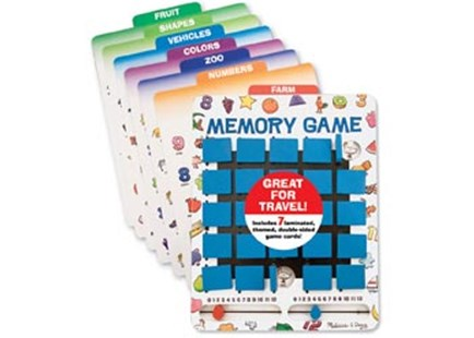 Melissa & Doug - Flip to Win Memory Game - Children's Toys & Games Games & Puzzles