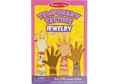 Melissa & Doug - Temporary Tattoos - Jewelry