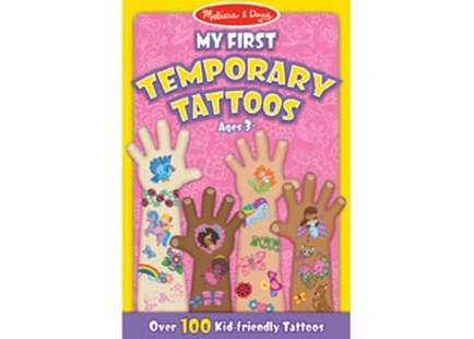 Melissa & Doug - My First Temporary Tattoos - Girl - Children's Toys & Games Arts & Crafts