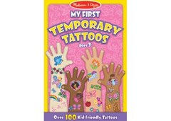 Melissa & Doug - My First Temporary Tattoos - Girl