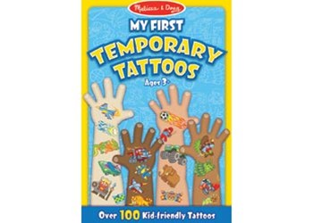 Melissa & Doug - My First Temporary Tattoos - Boy