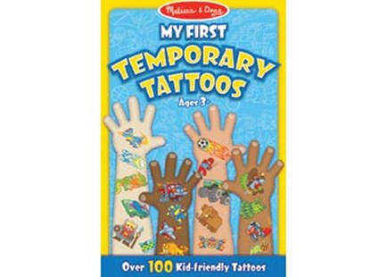 Melissa & Doug - My First Temporary Tattoos - Boy - Children's Toys & Games Arts & Crafts