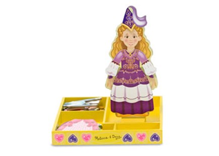 Melissa & Doug - Princess Elise Magnetic Dress-Up - Children's Toys & Games Dress Up & Role Play