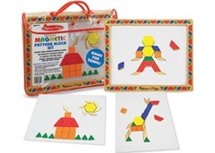 Melissa & Doug - Magnetic Pattern Block Kit