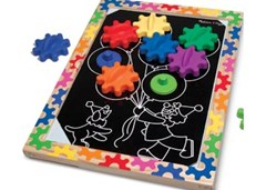 Melissa & Doug - Switch & Spin Magnetic Gear Board