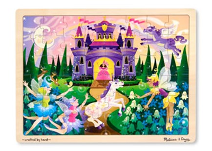 Melissa & Doug - Fairy Fantasy Jigsaw - 48pc by  (0000772038041) - Jigsaw - Children's Toys & Games Games & Puzzles
