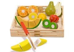 Melissa & Doug - Cutting Fruit Crate