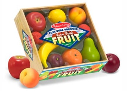 Melissa & Doug - Play-Time Produce Fruit - Children's Toys & Games Dress Up & Role Play
