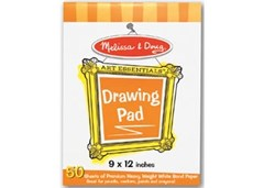 Melissa & Doug - Drawing Paper Pad 9x12&quote; - 50 Sheets