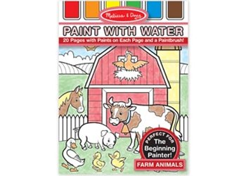 Melissa & Doug - Paint with Water - Farm Animals