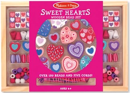 Melissa & Doug - Sweet Hearts Bead Set - Children's Toys & Games Arts & Crafts