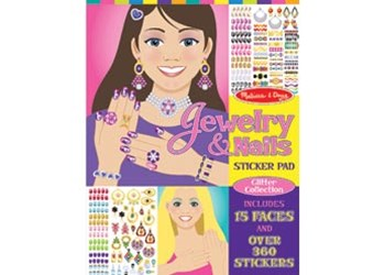 Melissa & Doug - Jewelry & Nails Glitter Collection