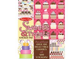 Melissa & Doug - Sweets & Treats Sticker Pad