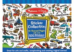 Melissa & Doug - Sticker Collection - Blue