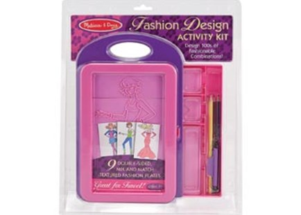 Melissa & Doug - Fashion Design Activity Kit - Children's Toys & Games Arts & Crafts