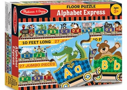 Melissa & Doug - Alphabet Express Floor Puzzle 27pc by  (0000772044202) - Jigsaw - Children's Toys & Games Games & Puzzles