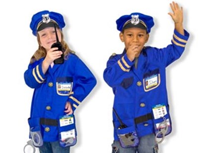 Melissa & Doug - Police Officer Role Play Costume Set - Children's Toys & Games Dress Up & Role Play