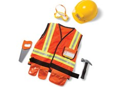Melissa & Doug - Construction Worker Costume Set