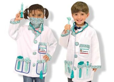 Melissa & Doug - Doctor Role Play Costume Set - Children's Toys & Games Dress Up & Role Play