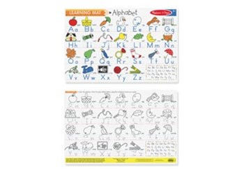 Melissa & Doug - Alphabet Write-A-Mat Bundle of 6