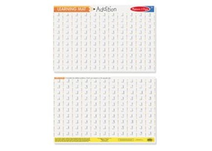 Melissa & Doug - Addition Write-A-Mat Bundle of 6 - Children's Toys & Games Educational