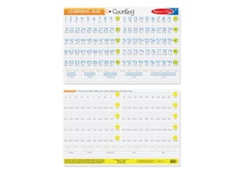 Melissa & Doug - Counting to 100 Write-A-Mat Bundle of 6