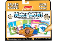 Melissa & Doug - On The Go - Water WOW! Splash Cards - Shapes! Numbers! Colors!
