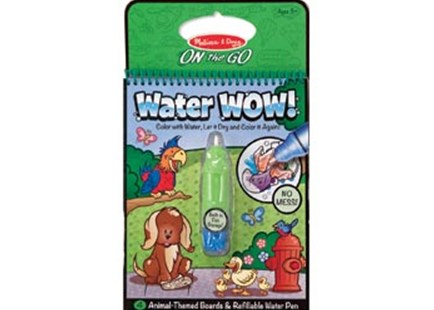 Melissa & Doug - On The Go - Water WOW! - Animals - Children's Toys & Games Arts & Crafts