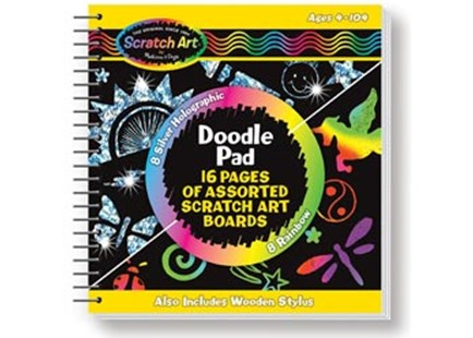 Melissa & Doug - Scratch Magic Doodle Book - Children's Toys & Games Arts & Crafts