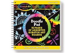 Melissa & Doug - Scratch Magic Doodle Book