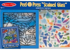 Melissa & Doug - Stained Glass - Undersea Fantasy