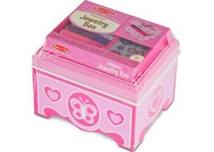 Melissa & Doug - Created by Me! Wooden Jewelry Box