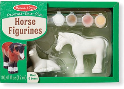 Melissa & Doug - Created by Me! Horse Figurines - Children's Toys & Games Arts & Crafts