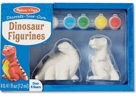 Melissa & Doug - Created by Me! Dinosaur Figurines - Non-Fiction Art & Activity