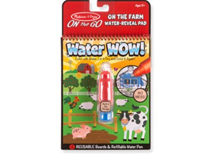 Melissa & Doug - On The Go - Water WOW! - Farm - Children's Toys & Games Arts & Crafts