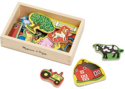 Melissa & Doug - Farm Magnets - 20pc - Non-Fiction Art & Activity