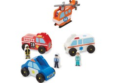 Melissa & Doug - Emergency Vehicle Set