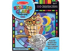 Melissa & Doug - Stained Glass Made Easy - Owl