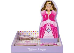 Melissa & Doug - Crowns & Gowns Magnetic Dress-Up