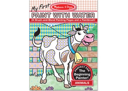 Melissa & Doug - My First Paint with Water - Animals - Children's Toys & Games Arts & Crafts