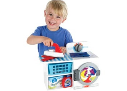 Melissa & Doug - Let's Play House! Wash, Dry & Iron - Children's Toys & Games Dress Up & Role Play