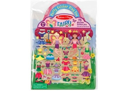 Melissa & Doug - Reusable Puffy Sticker Play Set - Fairy - Children's Toys & Games Arts & Crafts