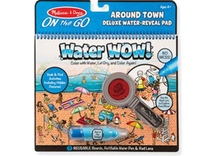 Melissa & Doug - On The Go - Water WOW! Around Town Deluxe - Children's Toys & Games Arts & Crafts