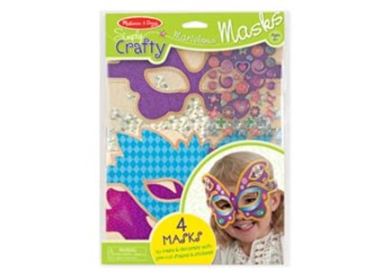 Melissa & Doug - Simply Crafty - Marvelous Masks - Children's Toys & Games Arts & Crafts