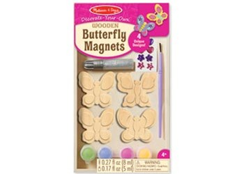 Melissa & Doug - Created by Me! Butterfly Magnets