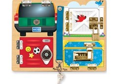 Melissa & Doug - Locks Board